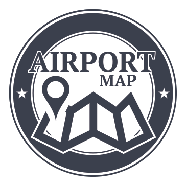 airport map logo